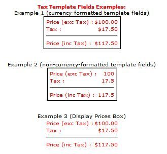tax vat amount template fields for vpasp byz091 02 by big yellow zone